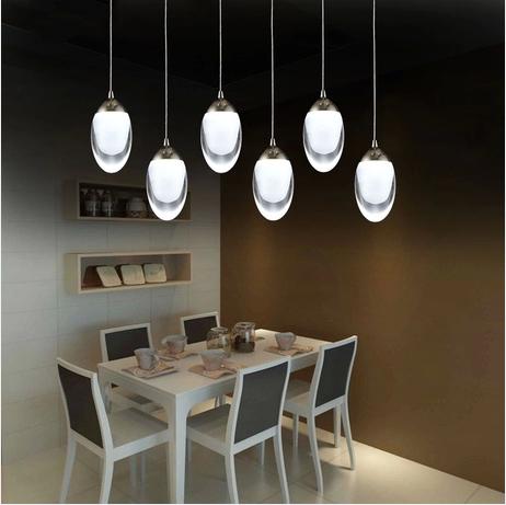 Novelty led interior Lighting Modern Led Acrylic pendant Lamp 15-30W led strip Abajur Bar Restaurant Dining Room Pendant Lights(China (Mainland))