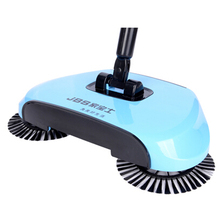 Household push sweeping machine hand push clean machine Broom broom dustpan drag suction sweeping robot(China (Mainland))
