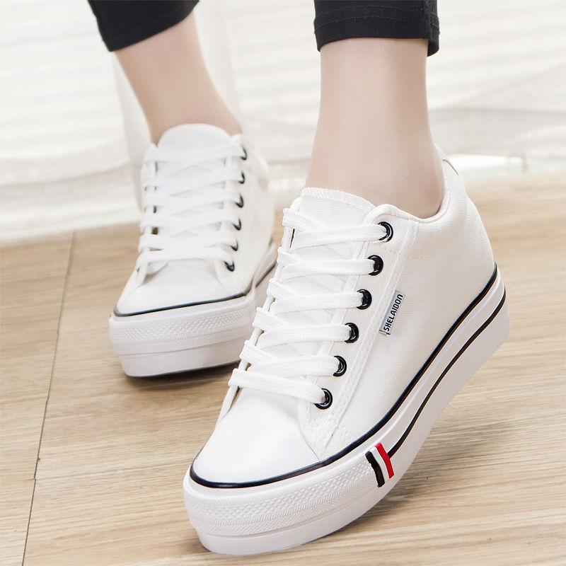 Hot Sale Canvas Shoes Women Fashion Sneakers Ladies Cloth ...