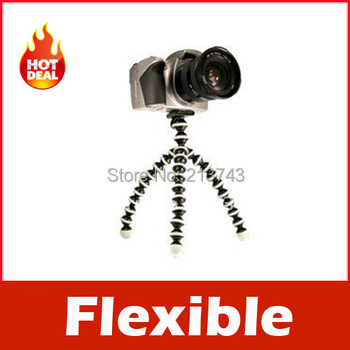 Gorillapod Type Flexible Leg Mini Tripod for Digital Camera (S)