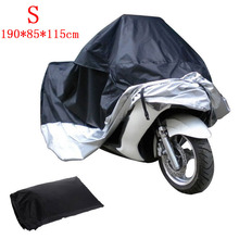 S M L XL XXL Large Motorcycle Motor Bike Scooter Waterproof UV Dust Protector Rain Cover(China (Mainland))