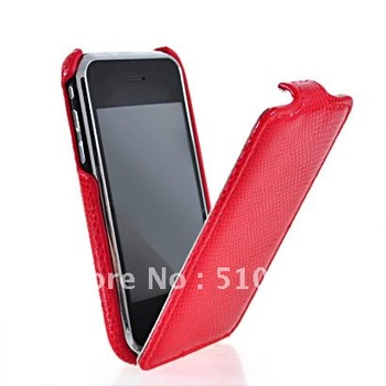 NEW SNAKE SKIN FLIP HARD BACK CASE COVER  FOR IPHONE 3G 3GS FREE  SHIPPING