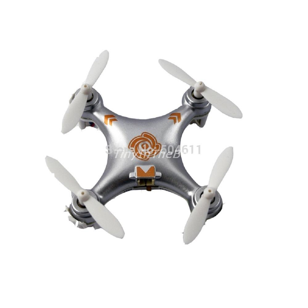 New Arrival Cheerson CX-10A 4CH 360 Flips Headless Mode 2.4GHz RC Quadcopter Drone w 6-Axis Gyro RTF Airplane Toys