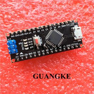 bootloader 1pcs Nano V3.0 ATmega168P CH340 MicroUSB Compatible Arduino Nano V3.0 Nano 3.0, hei