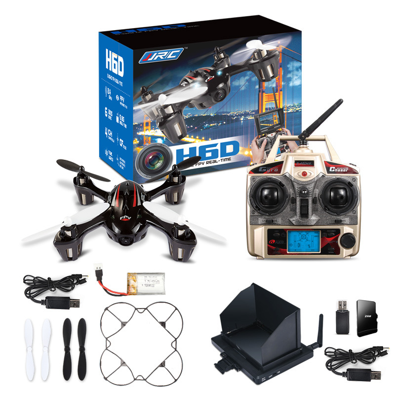 FPV Mini Drones With Camera Hd Jjrc H6d Quadcopters With Camera Flying Helicopter Camera Professional Drones Rc Dron Copter(China (Mainland))