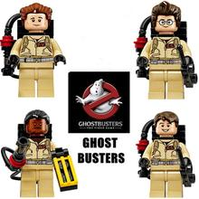 Ghost Busters Minifigure Super Heroes Enlighten Bricks DIY Minifigure Building Blocks Sets For Children Christmas Gift(China (Mainland))