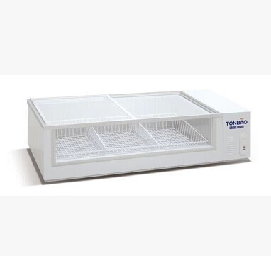 Reign SC-175A small hippocampus front glass display cabinets on three sides, two horizontal glass freezer freezer<br><br>Aliexpress