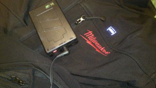 12v battery pack slimline suit Milwaukee AEG heated jacket (Up to 11 hours heat)(China (Mainland))