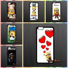 Despicable Me Yellow Minion Plastic Back Covers Case For Samsung Galaxy A5 A7 J1 J5 J7 Core 2 Alpha Ace2 Ace3 Ace4 HTC ONE S X(China (Mainland))