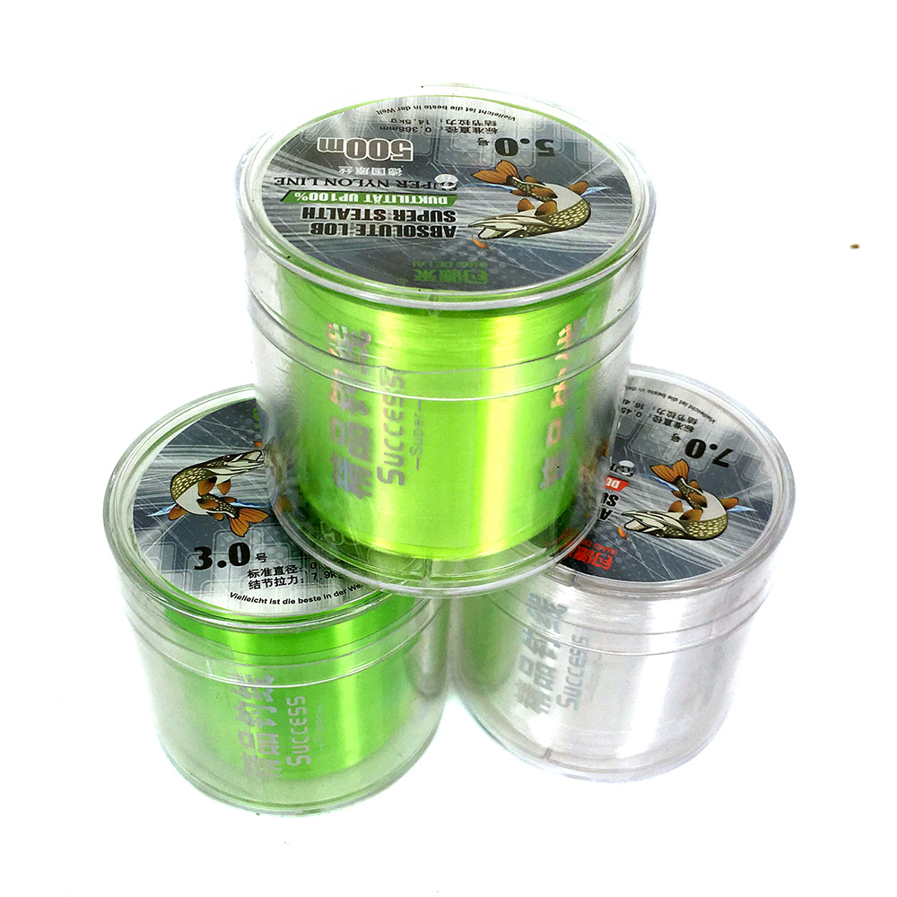 Best Quality 3.0 5.0 7.0# 500M Monofilament Nylon Fishing Line Fishing Material from German Jig Carp Fish Line Wire(China (Mainland))