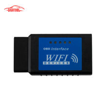 2015 Best quality elm327 Wifi Scanner Diagnostic Tool elm 327 wifi obd2 scanner V 2.1 Wireless Works on elm327 Torque(China (Mainland))