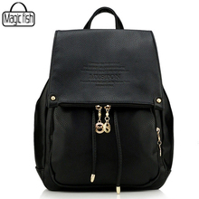 Charm in hands Popular Fashion Backpack Genuine Leather High Quality Women Backpacks Famous Brands Large Capacity Backpack C0390(China (Mainland))