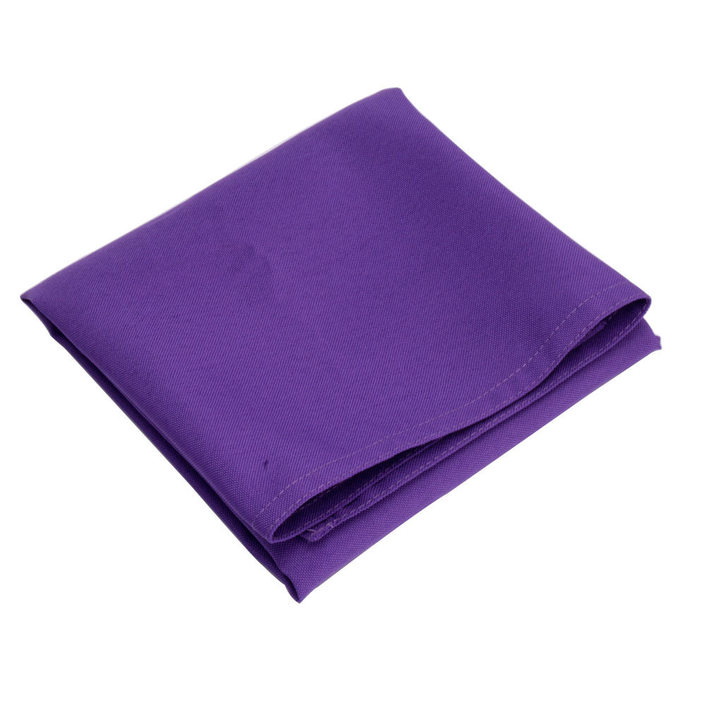Wedding party linen dinner cloth napkins purple color in table napkin