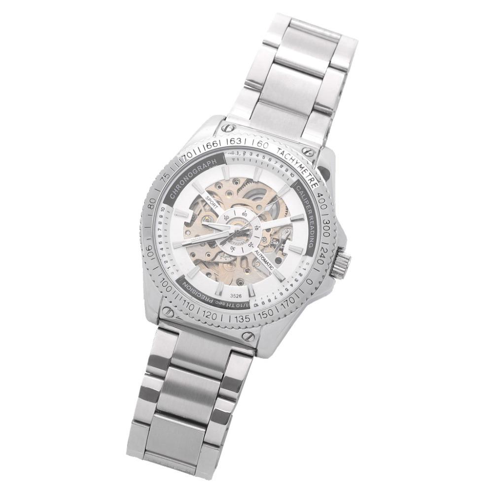Фотография free shipping hot seller DAYBIRD quartz movement watch men whiteLeather Watchband of stainless steel fashion mens watches
