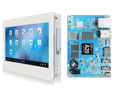 Dicaryon ARM Cortex-A7 A20 Hummingbird Development Board + 7.0 inch Capacitive Touch Screens(China (Mainland))