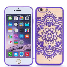 For iphone 6 6s 6plus 6s plus phone case Palace Paper Cut Flower Pattern Henna Floral Retro mobile phone skin case Cover