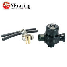 High performance parts, auto racing turbo aluminum blow off valve / blow off adaptor black