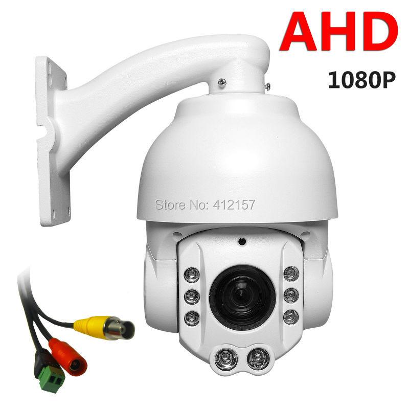 "CCTV Security Outdoor IP66 Speed Dome 4"" MINI SIZE AHD PTZ Camera Surveillance 1080P 2.0MP 20X ZOOM Auto Focus Pan/Tilt IR-CUT(China (Mainland))"
