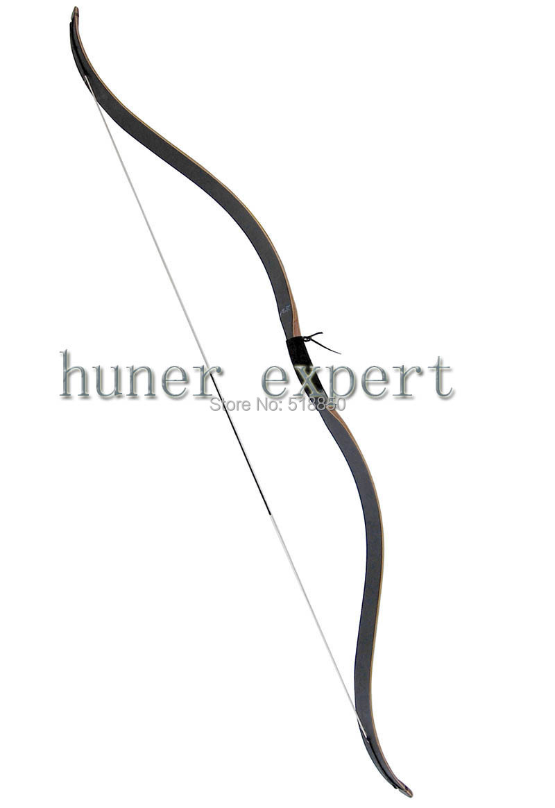 archer hunting recurve bow 45lbs laminating wooden bow 53 inch mongolian longbow for both hands(China (Mainland))