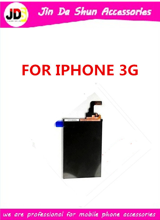 10pcs/lot Free Shipping For Iphone 3G Lcd Display Screen(China (Mainland))