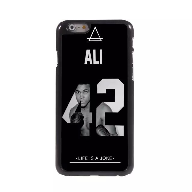 Old School Covers Phone Bag Brand New For Apple iPhone 6 (4.7 inch) King of Boxing Muhammad Ali Box Hard Metal Back Cover Case(China (Mainland))