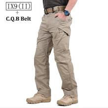 TAD IX9(II) Militar Tactical Cargo Outdoor Pants Men Combat Hiking Army Training Military Pants Hunting Outdoors Sport Trousers