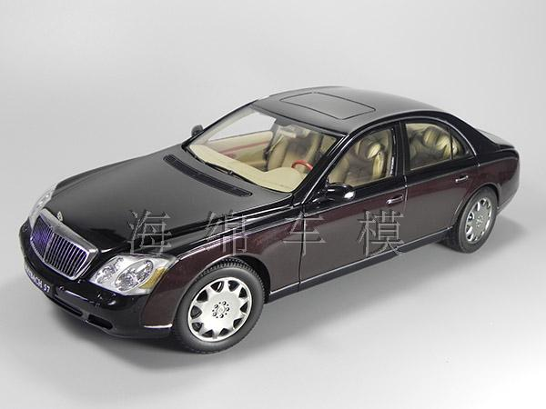 * Only One! Rare Reddish Black 1:18 AutoArt AA Maybach 57 SWB Diecast Model Car Luxury Collection Limitied Edition(China (Mainland))