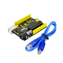 New! keyestudio UNO R3 development board + USB cable compatible for arduino(China (Mainland))