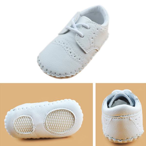 0-12M Cute Baby Boys Girls Faux Leather Loafers Soft Sole Toddler  Shoes Sneakers<br><br>Aliexpress