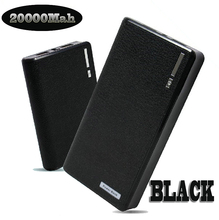 Universal Hot sale Power Bank 20000mAh USB External powerbank for iPhone 4s 5s Power Bank 20000 for samsung galaxy s5 s4