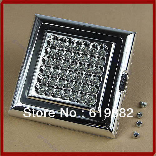 Free Shipping 42LED Auto Roof Ceiling Dome Light DC 12V White Car Vehicle Interior Lamp Indoor Hot<br><br>Aliexpress