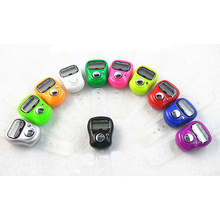 2015 New Electronic Row Counter Finger Ring Golf Digit Stitch Marker LCD Tally Counter  5VZ5