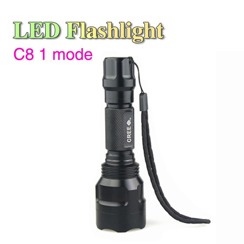 1 Model C8 LED Flashlight 2000 Lumens CREE XML-T6 Waterproof Torch Flashlight Mountain, Camping, Hiking, Forest exploring LF35<br><br>Aliexpress