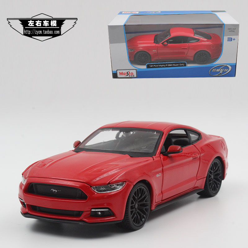 Brand New MAISTO 1/24 Scale Car Model Toys Ford Mustang GT 2015 Diecast Metal Car Model Toy For Collection/Gift/Decoration(China (Mainland))