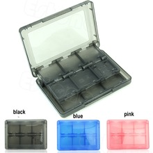 Free Shipping Plastic 28in1 TF SD MS CF Memory Card Holder Protector Cases(China (Mainland))
