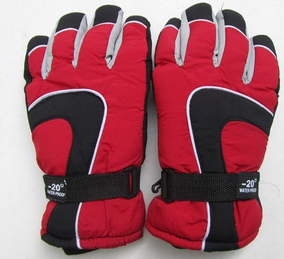 2012 male ski gloves sports cotton thermal gloves winter windproof male winter gloves