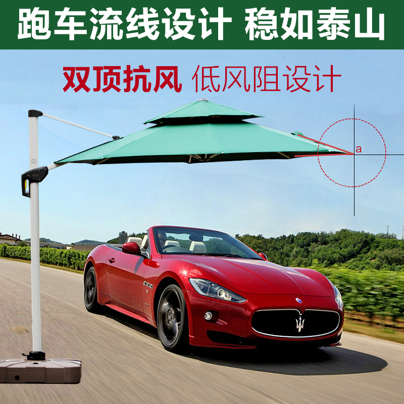 Tomb outside outdoor umbrella advertising 3 meters large sun beach patio Rome<br><br>Aliexpress