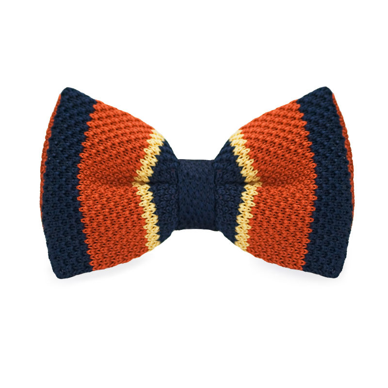 LF-327 New Arrival Knitted Crochet Men`s Bow Tie Adjustable Multicolor Striped Pattern For Men Party Bussiness Free Shopping(China (Mainland))