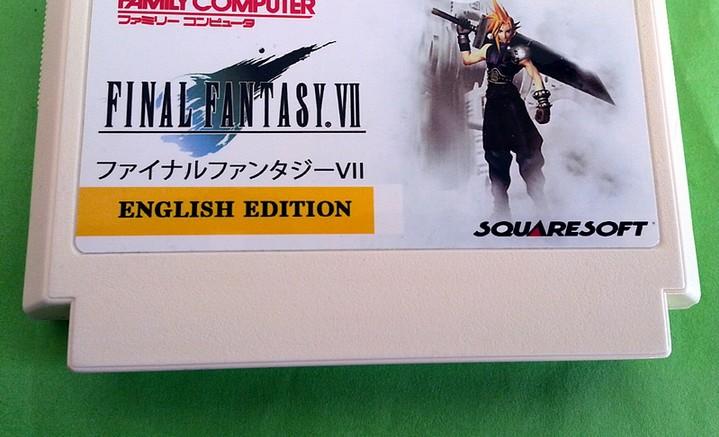 game card : final fantasy 7 ( English Language!! )<br><br>Aliexpress