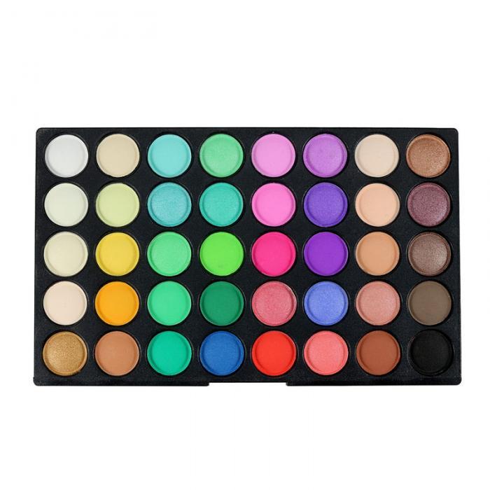 80 Kleuren Shimmer Matte Oogschaduw Make Up Palet Mode