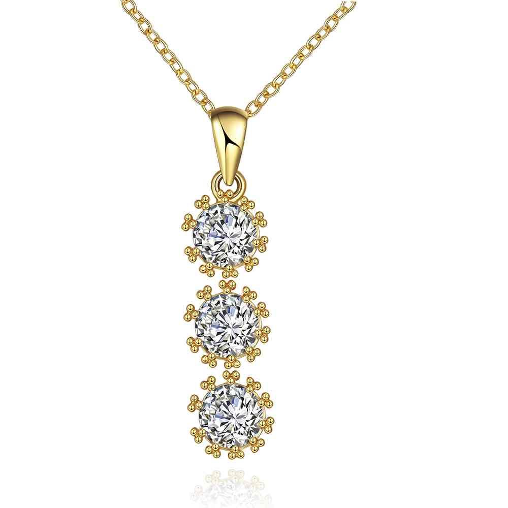 Free Shipping aliexpress acessorios para mulher women necklace Three flower pendant perfume women margarida SKGN119(China (Mainland))