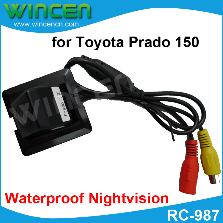 Rearview Camera for Toyota Prado 150 camera with 170 Degree Lens Angle Night Vision waterproof Free shipping(China (Mainland))