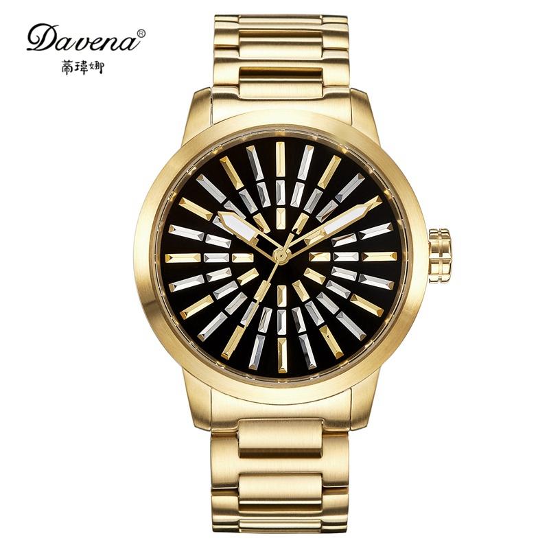2016 high quality gold silver wristwatch