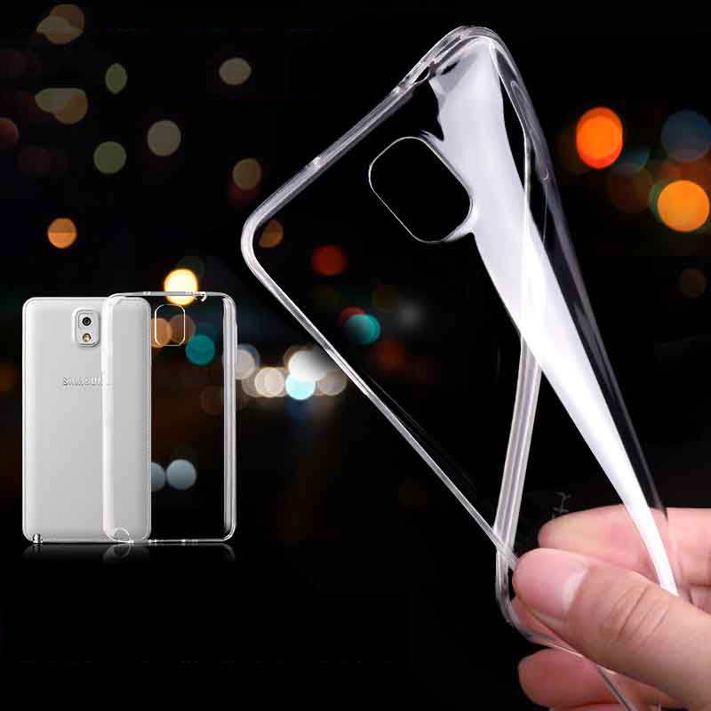 Note 4 Fashion Simple 0.3mm Slim Soft TPU Gel Rubber Case For Samsung Galaxy Note 4 N9100 Crystal Clear Accessories Cover Shell(China (Mainland))