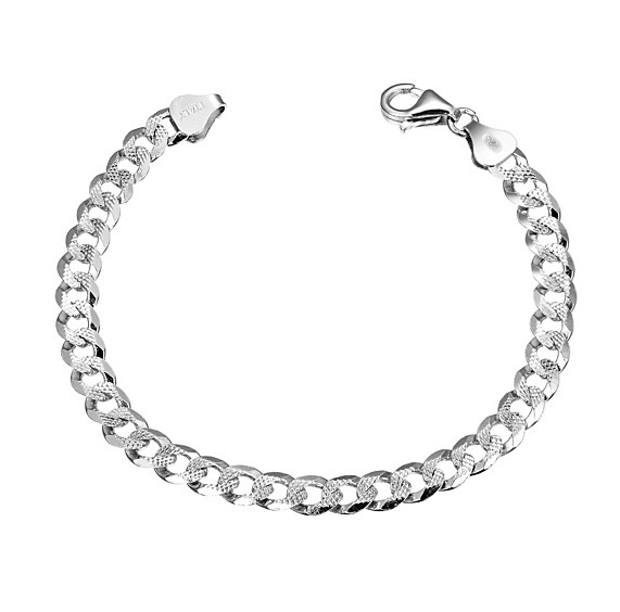 Pure Silver Bracelets For Men Pure Silver Bracelet S925 Pure