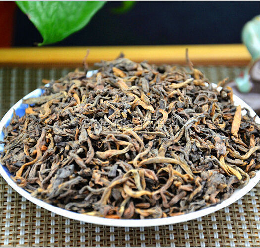 Hot Sell 10 Years Old 250g Chinese Puer Pu er Tea Puerh Loose Tea China Slimming Green Food For Health Care Free Shipping(China (Mainland))