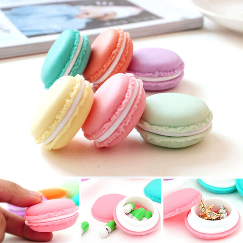 Vovotrade 6 PCS Mini Earphone SD Card Macarons Bag Storage Box Case Carrying Pouch(China (Mainland))