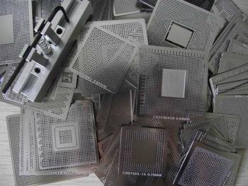 BGA Kit 341 pcs/lot  Reballing Stencils Template With Direct Heat Reballing Station Jig , FREE SHIPPING !