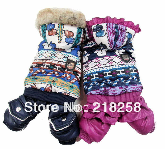 Гаджет  Retail  New Coming Snowman Printing Pet Dogs Winter Coat  Free Shipping By china post 2013 new clothing for dog None Дом и Сад