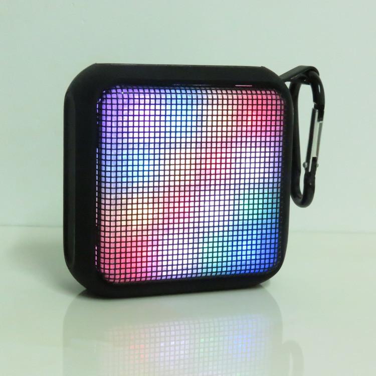 Original RoyQueen Phantom Lamp Bluetooth Speaker T600,Mini Music Plus Colorful Lights Speaker With Microphone & NFC,TF card Play